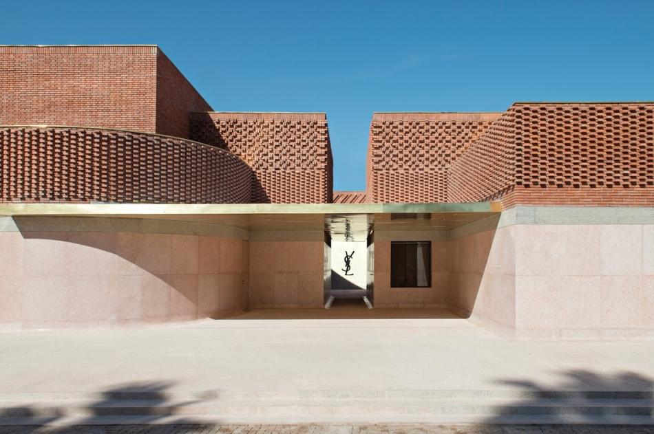 mYSLm façade est ©Fondation Jardin Majorelle…athéus, 2017