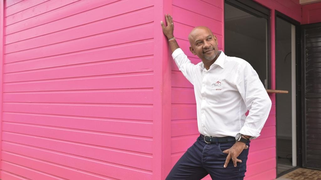 Didier Benjamin, créateur de Bungamoow Villafix en Guadeloupe
