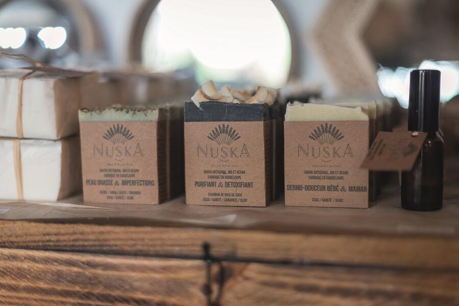 savon artisanal - boutique de décoration Nuska - Guadeloupe