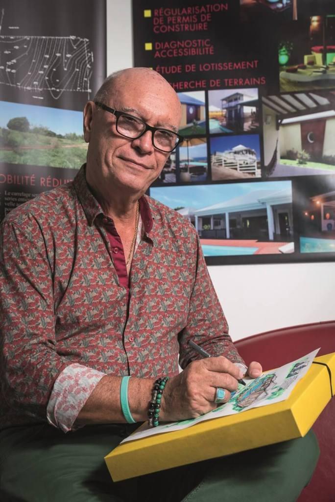 Yves Morice - créateur de Concept Architectonique - Guadeloupe